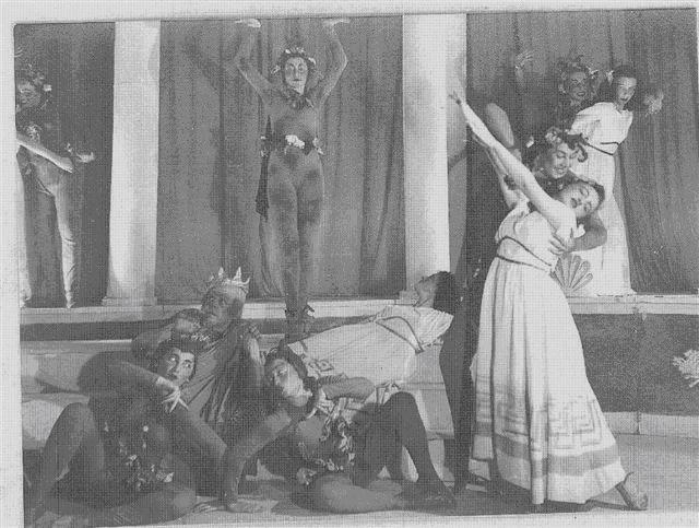 Plate 4: La Belle Hélène (1936) choreographed by Gertrud Kraus, as performed by her group at the Folk Opera.