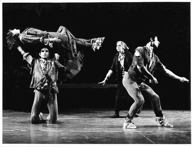 Plate 6: The Brood (Mother Courage), 1968, choreographed by Richard Kuch and performed by members of Batsheva Dance Company.